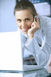 Young women in office Royalty Free Stock Images