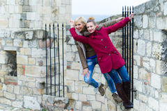 Young Women Posing Royalty Free Stock Photos