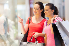 Free Young Women Shopping Stock Photos - 26730073