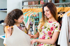Young women shopping fashion in department store Stock Images