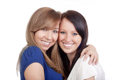 Young women smiling Stock Photos