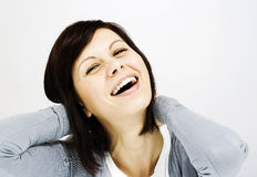 Young women smiling Royalty Free Stock Photo