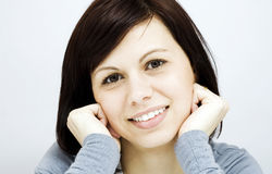 Young women smiling Royalty Free Stock Photography