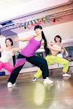 Aerobics girls Royalty Free Stock Images