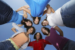 Young Women Standing In Circle Royalty Free Stock Image