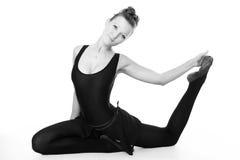 Young wonderful ballerina Stock Photography