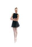 A young wonderful ballerina Stock Photos