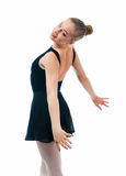 A young wonderful ballerina Royalty Free Stock Images