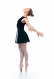 A young wonderful ballerina Royalty Free Stock Photography