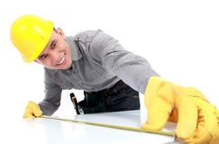 Young worker Stock Images