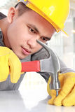 Young worker Royalty Free Stock Images