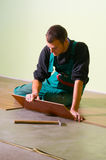 Young worker carpenter Stock Photography