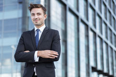Young worker of corporation Stock Images