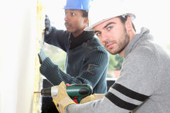 Young workers Stock Photo