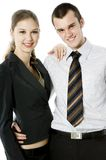 Young Working Couple Stock Photos