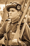 Young World War 1 Soldier Royalty Free Stock Images