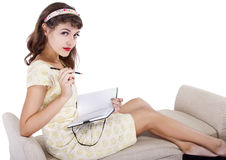 Young Writer or Artist Royalty Free Stock Photography