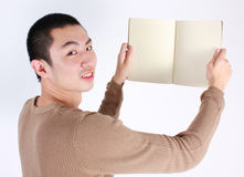 Young writer Royalty Free Stock Photo