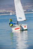 Young yachtsman Royalty Free Stock Photo