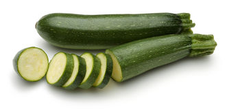 Young Zucchini Stock Photo