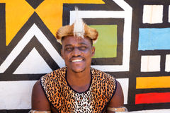 Young Zulu tribesman Royalty Free Stock Image