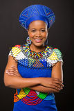 Young zulu woman Stock Photography