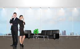 Younge people in the office Royalty Free Stock Photo