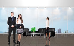 Younge people in the office Royalty Free Stock Image