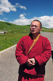 Younger monk Royalty Free Stock Photography