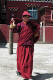 Younger monk Stock Image