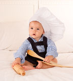 Youngest chef stock images