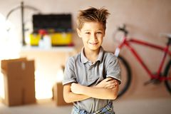 Youngster Royalty Free Stock Photo