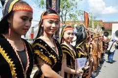 Youngster from Kadazan Dusun native of Sabah Malaysia Borneo Royalty Free Stock Photography