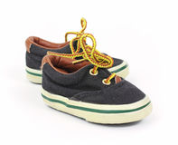 Youngster sneakers Royalty Free Stock Photo