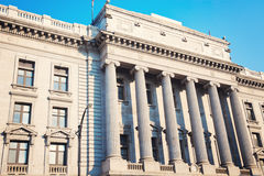 Youngstown的老法院大楼 免版税库存图片