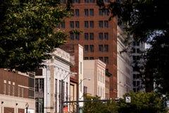 Youngstown van de binnenstad, Ohio royalty-vrije stock foto's