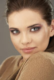 Younng woman close up portrait Royalty Free Stock Photos