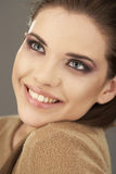 Younng woman close up portrait Royalty Free Stock Photography