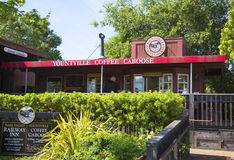 Yountville Coffee Caboose Stock Images