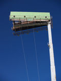 Your Ad Here!. Empty billboard atop high pole Stock Photography