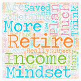Your Age Determines Your Retirement Royalty Free Stock Images