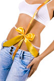 Your beautiful body - best gift for you Stock Images