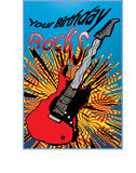 Your Birthday Rocks Stock Photography