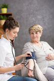 Your blood pressure is normal Royalty Free Stock Images