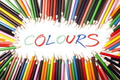 YOUR COLOURS! Royalty Free Stock Image