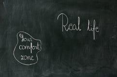 Your comfort zone Stock Photos