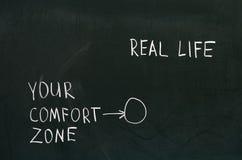 Your comfort zone Stock Photo