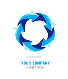 Your company. Modern logo design for your company Royalty Free Stock Photos
