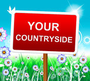 Your Countryside Means Natural Owned And Own Royalty Free Stock Image