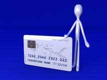 Your Credit Card Royalty Free Stock Photo